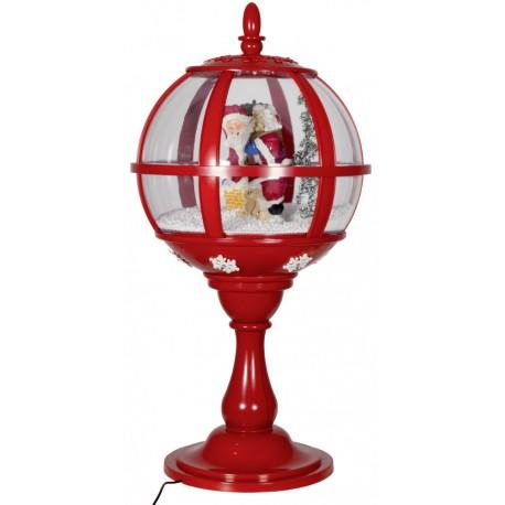 Décorations lumineuses, lanterne led de Noël fontaine à neige 37803