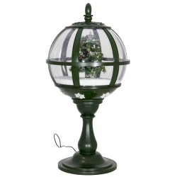 lanterne boule de table fontaine à neige 65cm