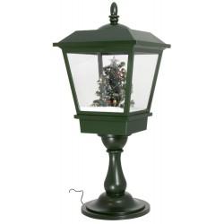 lanterne Led de table rétro fontaine à neige 65cm
