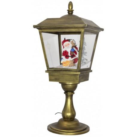 Décorations lumineuses, lanterne led de Noël fontaine à neige 37607