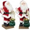 Automate Père Noël 45 cm chantant et dansant