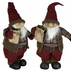 Gnome noël géant Andil50 Figurine pour décoration de noel et vitrine