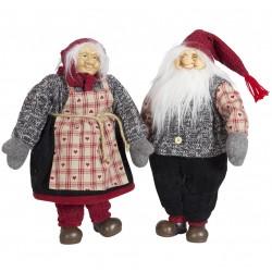 Gnome géant 40cm Talab Figurines pour décoration de noel et vitrine