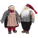 Couple Gnomes de noël géant Talab 40cm