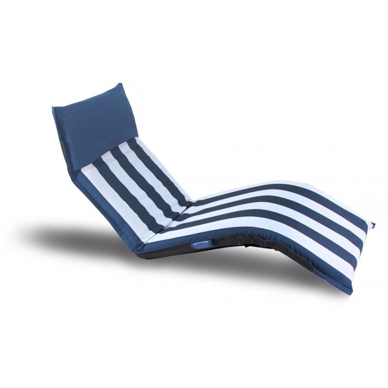 transat matelas de plage ajustable pliable et portable de. Black Bedroom Furniture Sets. Home Design Ideas