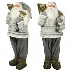 Père noël géant NicolasXL Figurine pour décoration de noel et vitrine