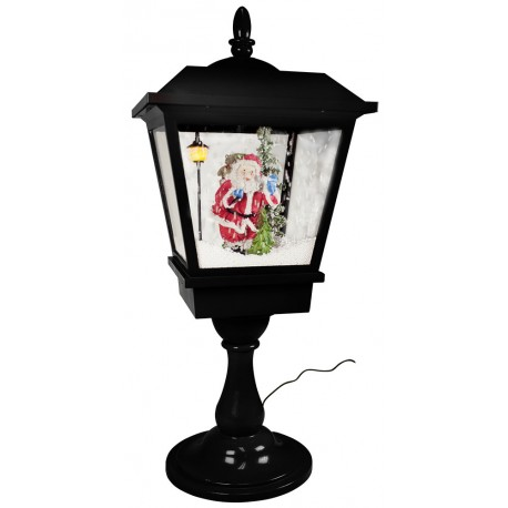 Décorations lumineuses, lanterne led de Noël fontaine à neige 35485