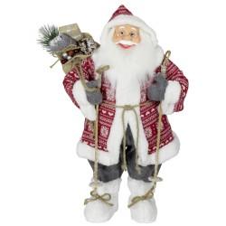 Figurine Père noël géant Jerry pour décorations de noel et vitrine