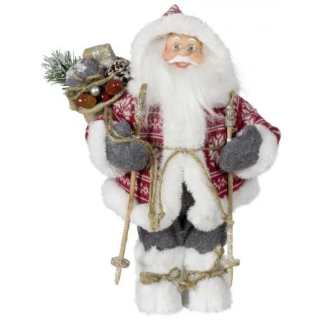 Père noël géant jerry Figurine pour décoration de noel et vitrine