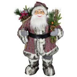Père noël géant 60cm Proteus figurine pour décoration de noel et vitrine