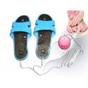 Sandales de massage électronique de réflexologie plantaire
