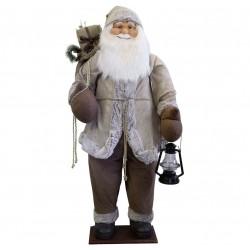 Figurine Père noël géant 180cm Lorenzo décoration de noel et vitrine
