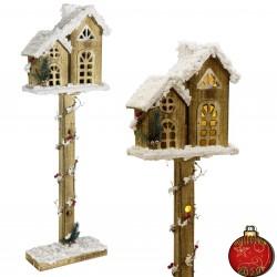 Lanterne de Noël à éclairage Led 35cm