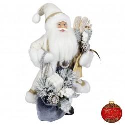 Père noël géant Bart30 Figurine pour décoration de noel et vitrine