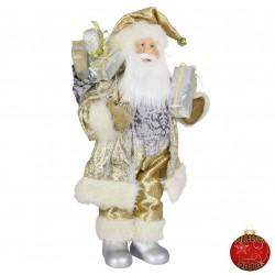 Père noël géant Daan 45cm Figurine pour décoration de noel et vitrine