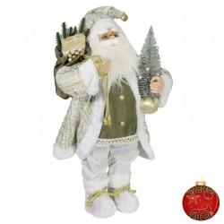 Père noël géant Daril60 Figurine pour décoration de noel et vitrine