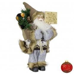 Père noël géant Gallen30 Figurine pour décoration de noel et vitrine
