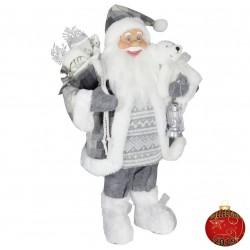 Père noël géant Ogier60 Figurine pour décoration de noel et vitrine