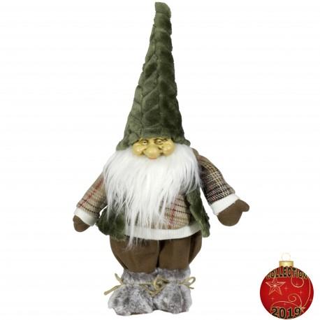 Gnome noel géant Alric33 Figurine pour décoration de noel et vitrine