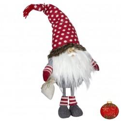 Gnome de noël géant Ellas Figurine pour décoration de noel et vitrine