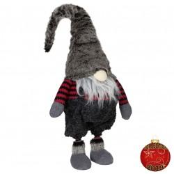 Gnome noël géant Heia50 Figurine pour décorations de noel et vitrine