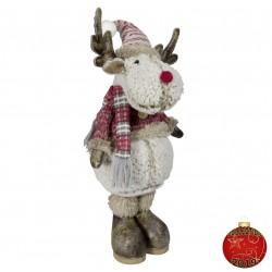 Elan noël géant Angus40 Figurine pour décoration de noel et vitrine