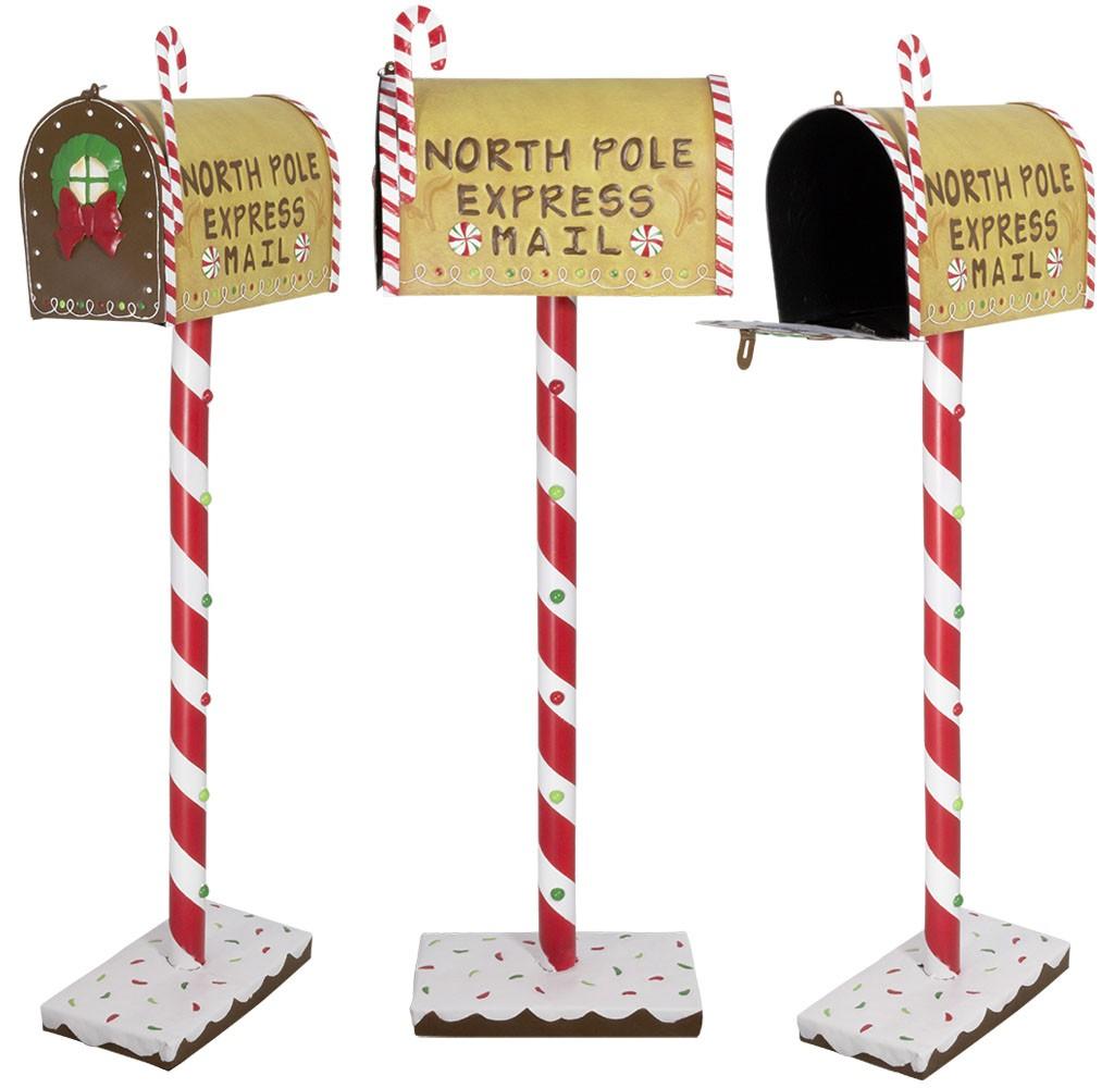 Image De Lettre De Noel.Boite A Lettre Du Pere Noel 102cm Pour L Avent Et Decoration