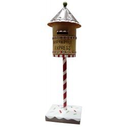 Boite à lettre du Père Noël pour décoration enfant fêtes de l'avent
