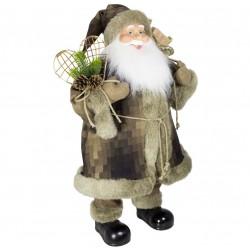Père noël géant Natan60 Figurine pour décoration de noel et vitrine