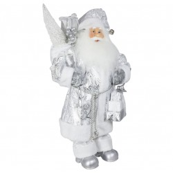 Père noël géant Benji60 Figurine pour décoration de noel et vitrine
