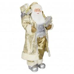 Père noël géant Daan 80cm Figurine pour décoration de noel et vitrine