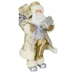 Père noël géant Daan 60cm Figurine pour décoration de noel et vitrine