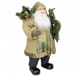 Père noël géant Lenis80 Figurine pour décoration de noel et vitrine