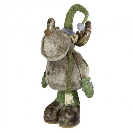Elan de noël géant Anil120 Figurine pour décoration de noel et vitrine