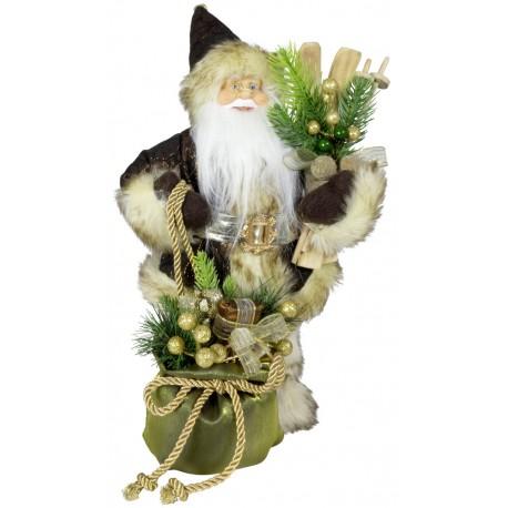 Père noël géant décoration 30 cm Eliot