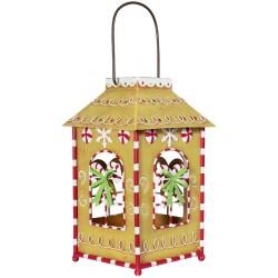 Lanterne de Noël à éclairage Led 28cm