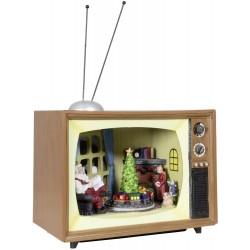 Téléviseur de Noël Led animé avec musique