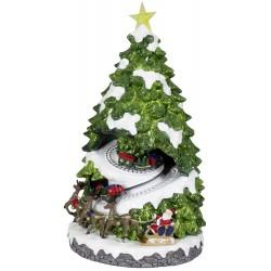 Lampadaire Led de Noël lanterne sapin de noël 180cm