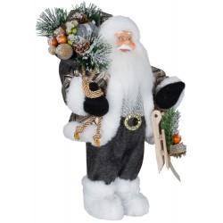Père noël géant Ruben30 Figurine pour décoration de noel et vitrine