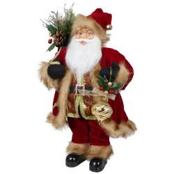 Père noël géant Agenor45 Figurine pour décoration de noel et vitrine