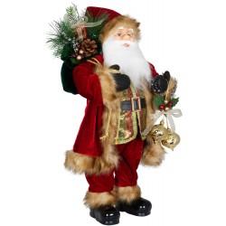 Père noël géant Agenor60 Figurine pour décoration de noel et vitrine