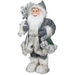 Père noël géant Adonis45 Figurine pour décoration de noel et vitrine