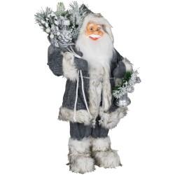 Père noël géant Adonis60 Figurine pour décoration de noel et vitrine