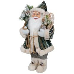 Père noël géant Aïwen60 Figurine pour décoration de noel et vitrine