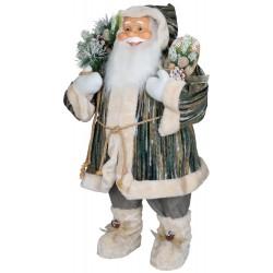 Père noël géant Aïwen80 Figurine pour décoration de noel et vitrine