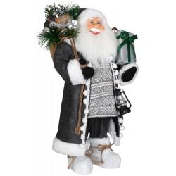 Père noël géant Jafar60 Figurine pour décoration de noel et vitrine