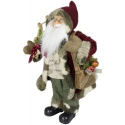 Père noël géant 45 cm. Figurine pour décoration de noel et vitrine