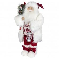 Père noël géant 45cm. Figurine pour décoration de noel et vitrine