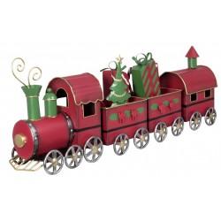 Train de noël décoratif 63cm
