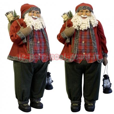 Père noël géant Viktor 120 cm